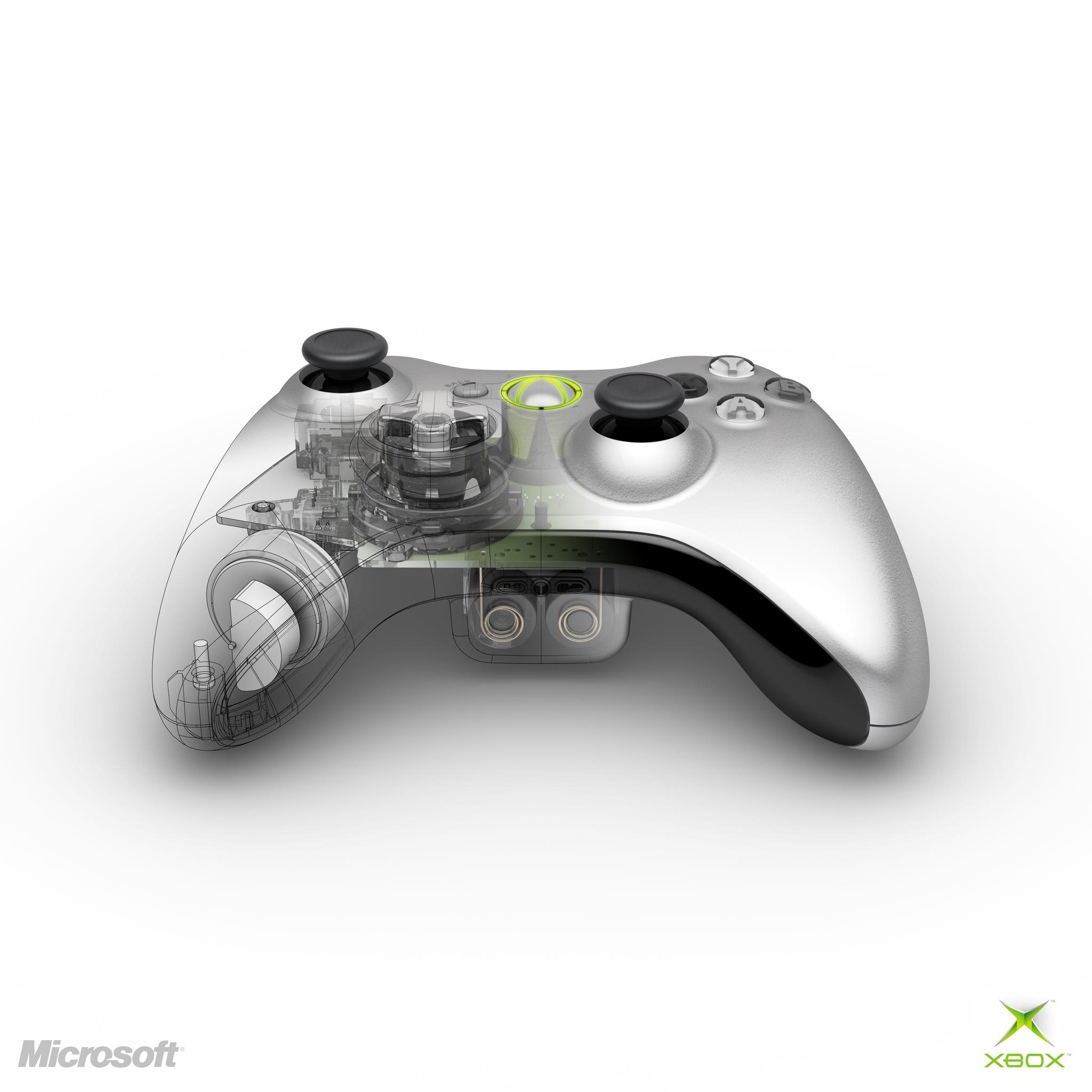 Xbox 360 controller xray